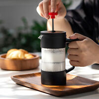 KE_ Rust-FreeThickened Borosilicate Glass Coffee Maker Pot Tea with 3 Filter S