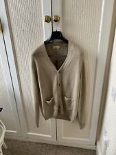 MENS HACKETT LONDON LINEN COTTON CARDIGAN