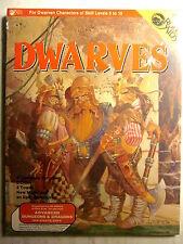Mayfair Games #704 AD&D Role Aids DWARVES Adventure (Shrink Wrap/NM, 9.4/1984)