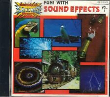 ORIGINAL FUN WITH SOUND EFFECTS V. 1: 80 CLASSIC F/X! TRAINS, THUNDER, HALLOWEEN