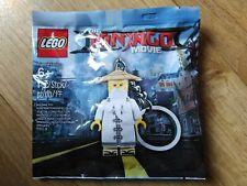 Lego Ninjago Movie Polybag Porte Clé Maitre SENSAI Wu Vieux Sage