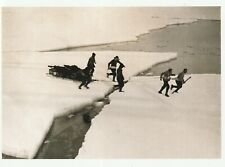 "*Postcard-""Crossing Ice to Terra Nova/S Pole"" *Scott's Antarctic Expedition"" (Q1"