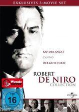 KAP DER ANGST + CASINO + DER GUTE HIRTE (Robert De Niro) 3 DVDs NEU+OVP