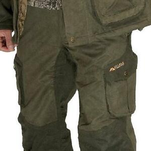 HILLMAN OUTBRAVE TROUSERS CAMO GREEN STALKING HUNTING SHOOTING FISHING