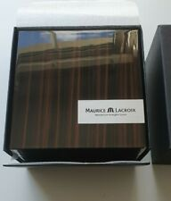 MAURICE LACROIX WOODEN LAQUERED WATCH BOX Full Set