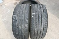 PAIR OF PIRELLI SCORPION ZERO 265/45/R21 108Y TYRES M&S JAG ALL SEASON *6.3MM*