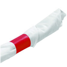 MH Paper 4.25 x 1.5 Red Napkin Bands (1000) Self Adhesive Ships Free ($0.011/pc)