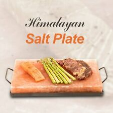 Pure Natural Himalayan Rock Salt Cooking Grill Plate Anti-microbial Surface Slab