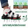1Pair Garden Lawn Aerator Aerating Sandals/Shoes Seed with 26 Spikes 13 x 4.5cm