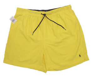 NEW Polo Ralph Lauren Swim Shorts (Bathing Suit)!  2 Colors Polo Player on Front