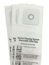Central Vac Bags for Nutone 6 Gallon CV350, CV352, CV353, CV450, CV653 3-Pack
