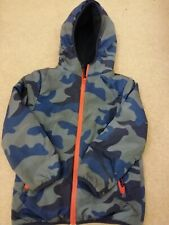 Boys Camo Boden Coat Age 7-8 Immaculate
