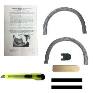 Rope Crankshaft Seal For 1970-1974 MoPar B-Body & E-Body 383 - 400 - 426 - 440