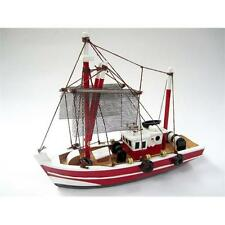 Fishing Magician Starter Boat Kit: Build Your Own Wooden Model Ship