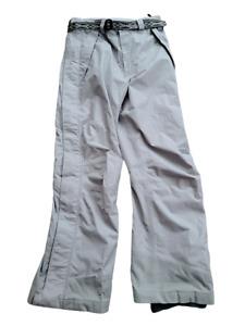 Helly Hansen Tech 10 Ski Snowboard Pants Men's L Large Waterproof Breathable Gry