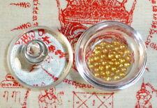 RELICS OF ANANDA BUDDHA DISCIPLE SARIRA GOLD PEARLS PHRA TATH SMALL RELIC STUPA