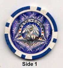 Las Vegas $50 Face Value Casino Chip 🔘 Nice Condition ✔️ 🔘 U.S.A. Casino 🔘