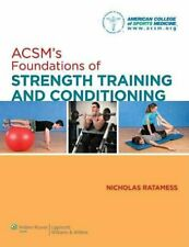 ACSM's Foundations of Strength Training and Conditioning 9780781782678
