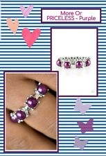 Paparazzi jewelry Ring ☆ More Or Priceless Purple