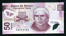Mexico (P123a) 50 Pesos 2004 Polymer UNC