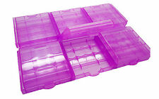 6x Caja Porta pilas Portabaterias Baterias Recargables AA R6 LR03 AAA 2547rs