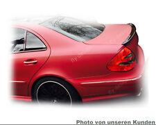 Mercedes W211 Lack ObsidianSCHWARZ 197 Tuning Bodykit Hinten Heck Spoiler Flügel