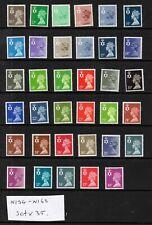More details for n. ireland. 1981. ni34-ni68. set x 35 values. superb unmounted mint. freepost!