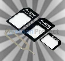 Noosy Nano Sim Adapter 4er Set mit Schlüssel Micro Sim Kartenadapter Nanosim