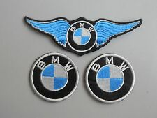 BMW KIT 3 TOPPE PATCH RICAMATE TERMOADESIVE