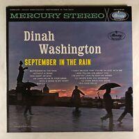 "Dinah Washington - September in the Rain 1961 Mercury Records 12"" 33 RPM LP (VG+"