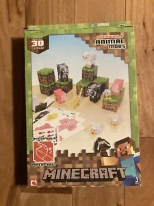 Minecraft Paper Craft Animal Mobs Pack (Over 30 Pieces)