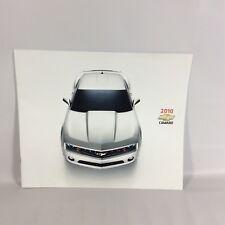 2010 Camaro Dealership Showroom Promotional Booklet Canada Olympic Sponsor