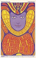 Mint Grateful Dead Big Mama Mae Thornton 1966 Bg 41 Fillmore Card