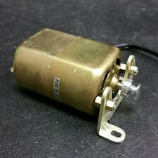 Sewing Machine Motor from a Japanese Dial-A-Stitch model 1200-TW - Made in Japan