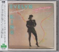 """Evelyn """"Champagne"""" King: A Long Time Coming [+Japan OBI] (CD 2014 2 Discs NEW SS"""