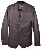 DKNY Men's Cotton Blazer Jacket, Black, size XS