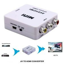 Mini AV2HDMI AV Composite to HDMI 720p 1080p Upscaling Video Converter Adapter