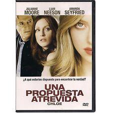 Una Propuesta Atrevida / Chloe DVD NEW Julianne Moore Factory Sealed!