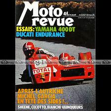 MOTO REVUE N°2267 DUCATI 900 SS YAMAHA DT 400 GRAND PRIX SOYER BARRY SHEENE 1976