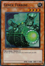 HA02-EN008 YuGiOh! SUPER RARE Monster Card GENEX TURBINE 1st Edition SR Mint/ NM