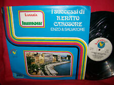 ENZO & SALVATORE I successi di RENATO CAROSONE LP 1977 MINT