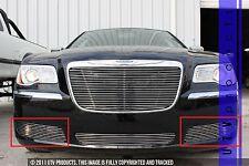 GTG 2011 - 2014 Chrysler 300 and 300C 2PC Polished Accent Billet Grille Kit