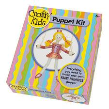 FAIRY PRINCESS fantoccio KIT per astuti KIDS-incoraggiare menti creative