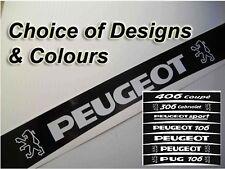 Peugeot PUG Decal Sunstrip / Sun Strip/ Sunvisor