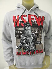 NWT MENS XL GRAY DUCK DYANSTY Si NSFW NOT SAFE FOR WORK HOODIE SWEATER A&E SHOW