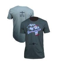 Camiseta Avion SAETA Mylitaria color verde militar