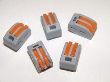 5 Genuine Wago Splicing Connector Lever Nut 222 412 New