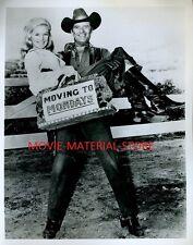 "Linda Evans Peter Breck The Big Valley 8x10"" Photo #K7843"