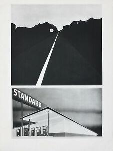 Original Reinhold Visuals Edward Ruscha/D'Arcangelo Mid Century Poster, 1968