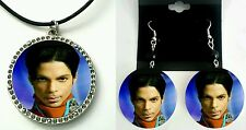 Prince remembering Prince earring and necklace set